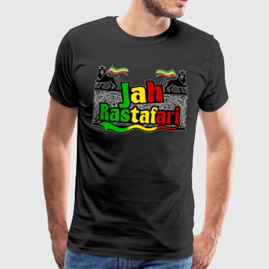 Roots Ragga Dance Hall Rasta jah rastafari - Men's Premium T-Shirt