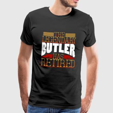 butler - Men's Premium T-Shirt