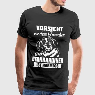 Saint-Bernard - attention - T-shirt Premium Homme