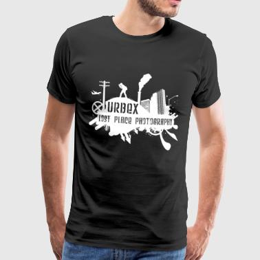 Lost Place Photography White - Männer Premium T-Shirt