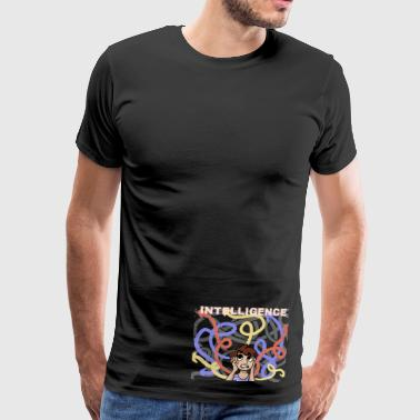 intelligence - Men's Premium T-Shirt