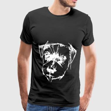 Dog head - Men's Premium T-Shirt