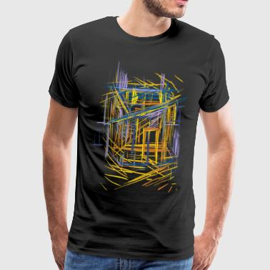 Architecture sketch - Men's Premium T-Shirt