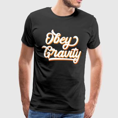 Funny & Awesome Gravity T-shirt Design Lyd tyngdekraften - Herre premium T-shirt
