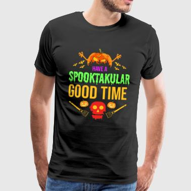 Spooktakular - Halloween Scary Creepy Spooky - Men's Premium T-Shirt
