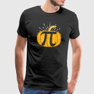 Cocoa Pumpkin Pie Mathematics Pumpkin Pie Pi Gift - Men's Premium T-Shirt