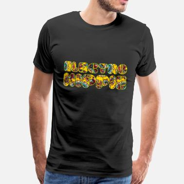 Electro Hippies Electro Hippie for dark shirts - Männer Premium T-Shirt