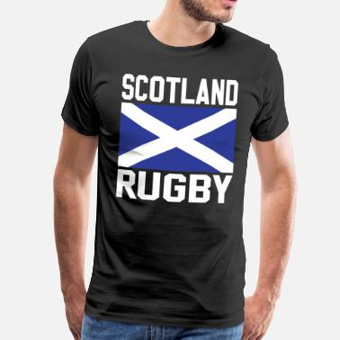 Ecossais Rugby Ecosse - T-shirt Premium Homme