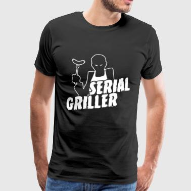 Series Griller Funny Grill and BBQ Shirt - Men's Premium T-Shirt