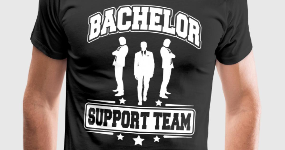 Bachelor support team fr n nektarinchen spreadshirt for I support two teams t shirt