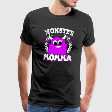 Halloween Monster Momma Gift - Men's Premium T-Shirt