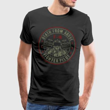 F-16 - Fighter pilot - Aviator - Fighter jet - Men's Premium T-Shirt