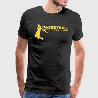 Basketball Player Slam Dunk Team Sport Forward - Men's Premium T-Shirt