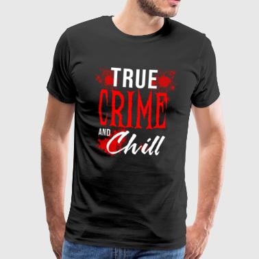 Sergeant Murderino Podcast Fan Murder True Crime Ssdgm - Men's Premium T-Shirt