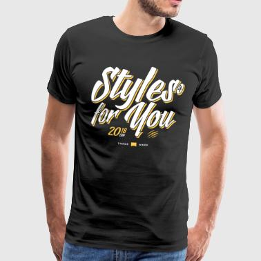 styles4you 2018 Edition - Männer Premium T-Shirt