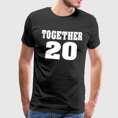 Partnerlook together  - Männer Premium T-Shirt