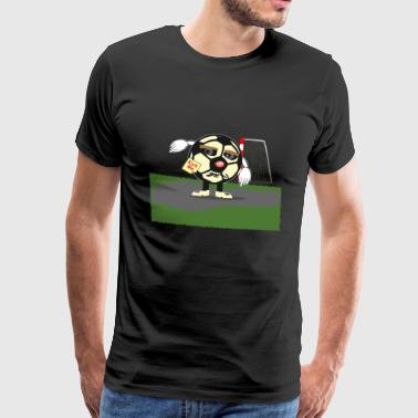 Football intimidé - T-shirt Premium Homme