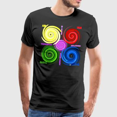 The four elements (or five?) - Men's Premium T-Shirt