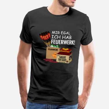 Feu D Artifice J'ai des feux d'artifice - T-shirt Premium Homme