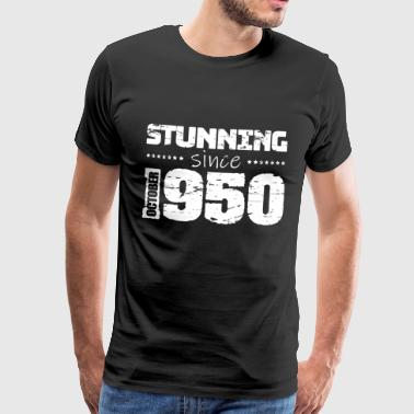 Stunning since October 1950 - Männer Premium T-Shirt