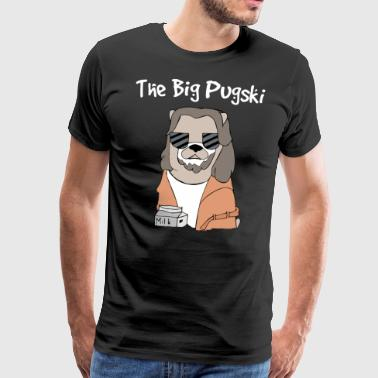 The Big Pugski - Mannen Premium T-shirt