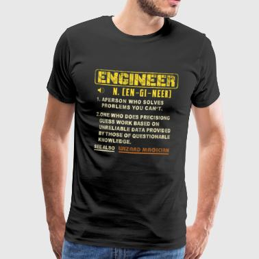 Sound Engineer Engineer Wizard - Mannen Premium T-shirt