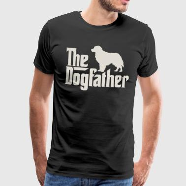 Den Dogfather - Golden Retriever Labrador - Premium T-skjorte for menn