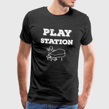Play Station - Männer Premium T-Shirt