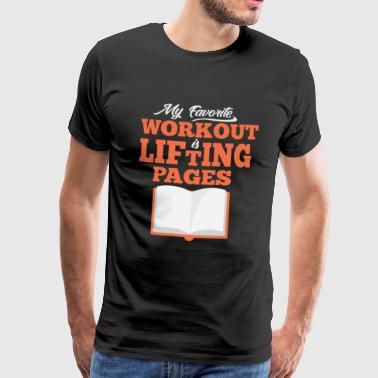 Lifting Pages - Men's Premium T-Shirt