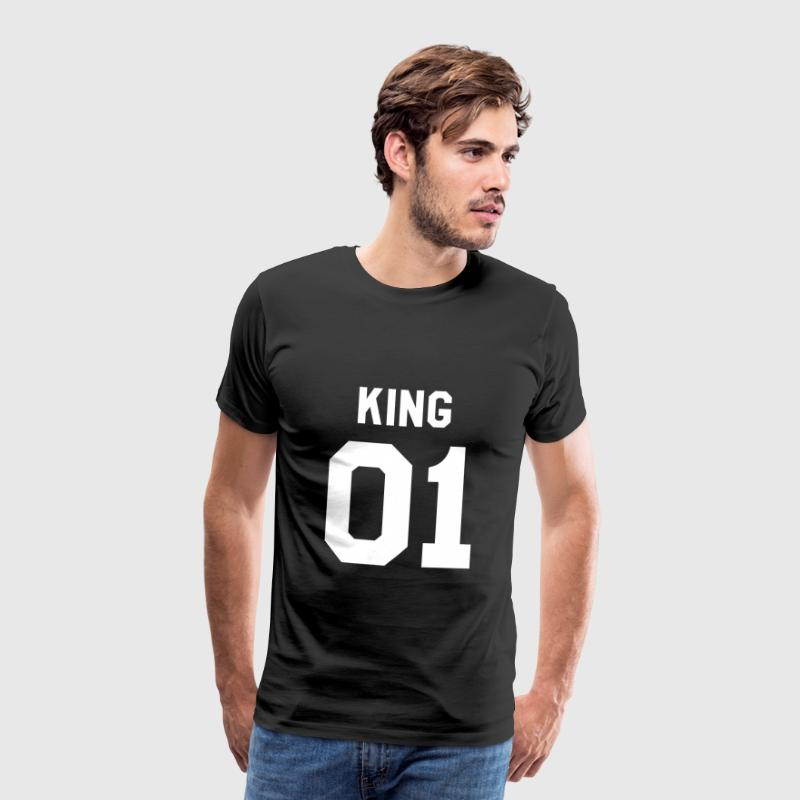 KING 01 LIMITED EDITION - Mannen Premium T-shirt