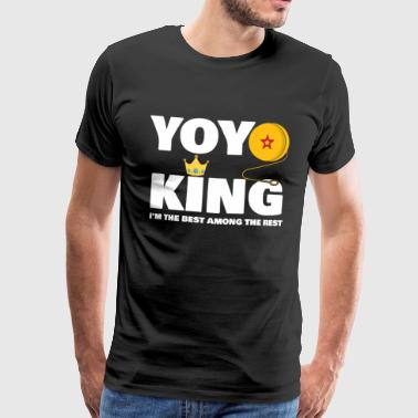 YOYO - Yoyo King, I'm the best among the rest - Men's Premium T-Shirt