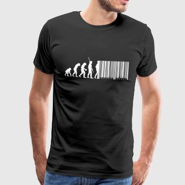 code à barres Evolution - T-shirt Premium Homme
