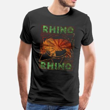 Rhinoceros rhino - Men's Premium T-Shirt