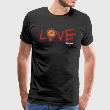 Jeu de basket-ball amour - T-shirt Premium Homme