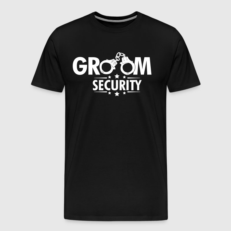 Groom Security - Men's Premium T-Shirt