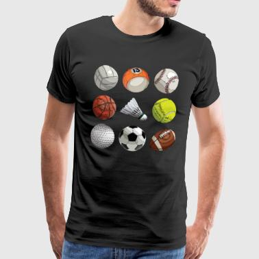 ball Sports - Men's Premium T-Shirt