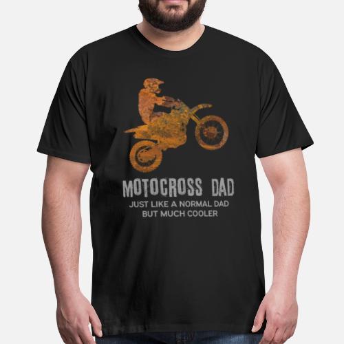 2c6a092b8 Motocross - cool dad Men's Premium T-Shirt | Spreadshirt