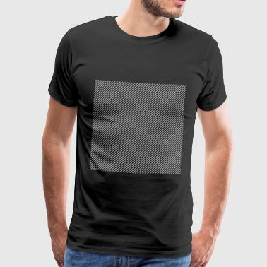 Box with Lines - Männer Premium T-Shirt