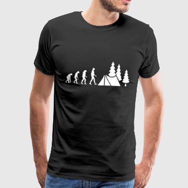 Evolution Camping - T-shirt Premium Homme