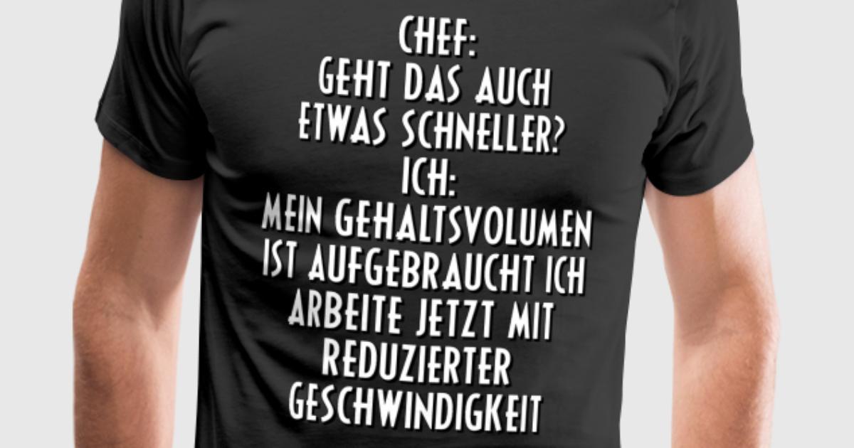 Gehalt Lohn Chef Sprüche Geschenk Geschenkidee von BROB | Spreadshirt