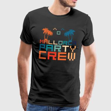 Mallorca Party Crew Party Holiday Drinking Malle - Premium-T-shirt herr