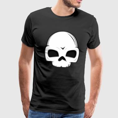 Crâne crâne crâne crâne halloween - T-shirt Premium Homme