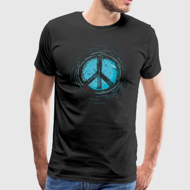 Global Peace Peace Sign War Peace Sign - Men's Premium T-Shirt