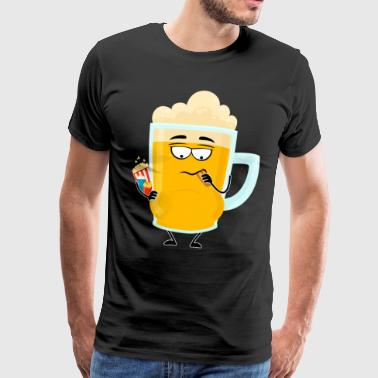 beer belly - Men's Premium T-Shirt