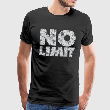 NO LIMIT - Männer Premium T-Shirt