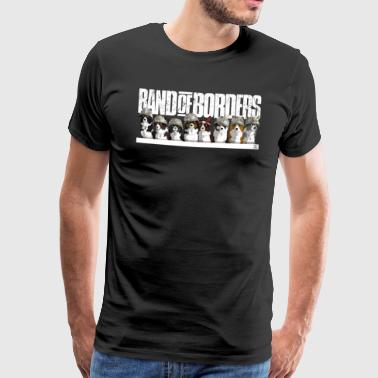 Band Of Borders - Snow - White - Men's Premium T-Shirt