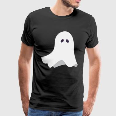 Funny Ghost - Scary Creepy Spooky Halloween - Herre premium T-shirt
