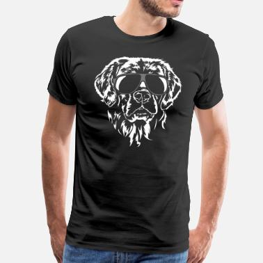 Retriever Golden retriever fraîche - T-shirt Premium Homme