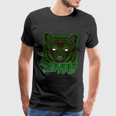 Ours brun ours Grizzly - T-shirt Premium Homme