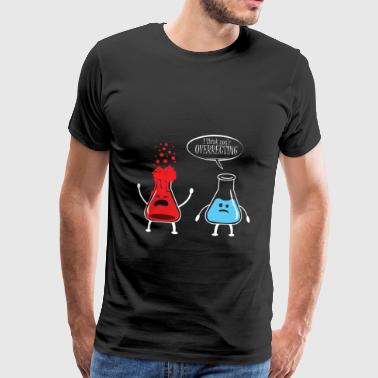 Test T-Shirt Chemistry Science Test Tube Gift - Men's Premium T-Shirt